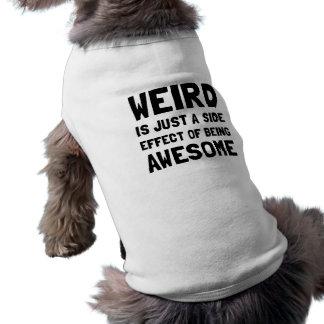Weird Awesome Sleeveless Dog Shirt