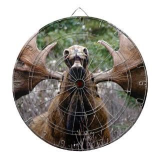 weird bull moose dartboard