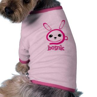 weird bunny dog t-shirt