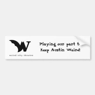 Weird City Theatre Bumper Sticker