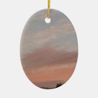 Weird Clouds 2 Ceramic Ornament