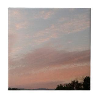 Weird Clouds 2 Ceramic Tile