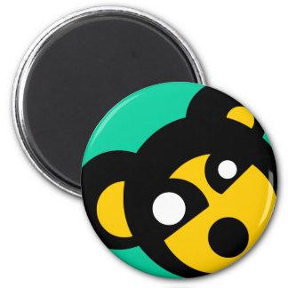 Weird Creature Sticker 6 Cm Round Magnet