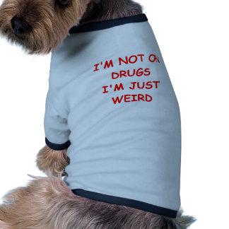 weird dog tee shirt