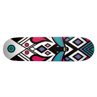 Weird Dude Pattern Old Skool Deck 21.6 Cm Skateboard Deck