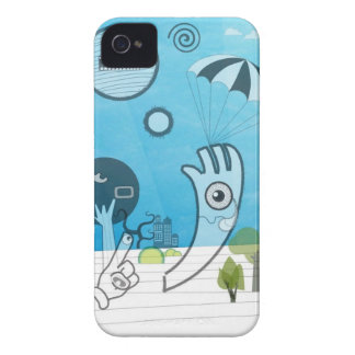 Weird Encounters iPhone Case