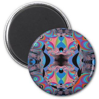 Weird Fractal Magnet