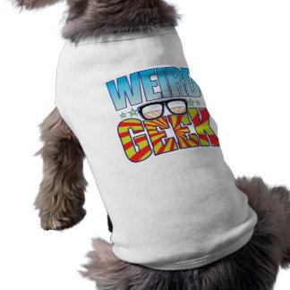 Weird Geek v4 Dog T-shirt