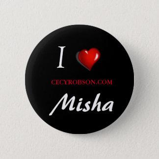 Weird Girls - Misha 2 1/4 inch Round Button