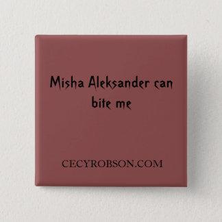 Weird Girls - Misha 2 inch Square Button