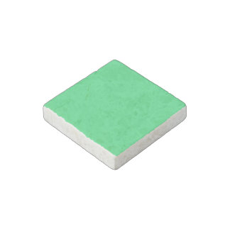 Weird Green colored Stone Magnet