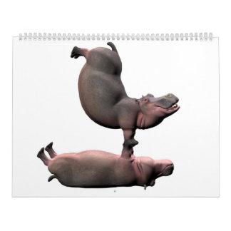 Weird Hippos Calendars