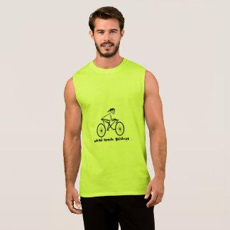 Weird Human Behavior Bicycler Sleeveless T-Shirt