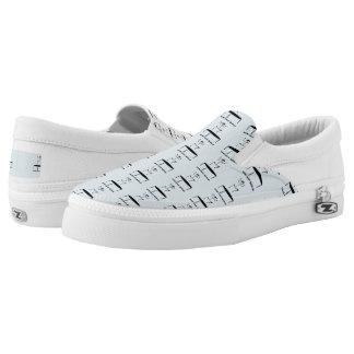 Weird Human Behavior Trampoline Zipz Slip On Shoes
