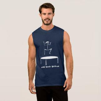 Weird Human Behaviour Trampoline Sleeveless Sleeveless Shirt