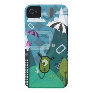 Weird Invasion iPhone Case