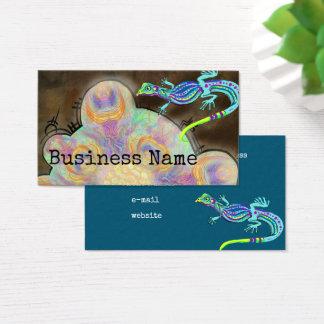Weird Lizards Business Card