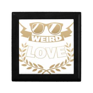 weird love gift box