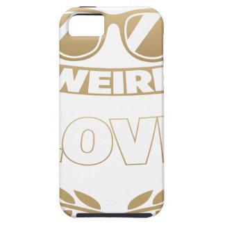 weird love tough iPhone 5 case