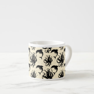 Weird Octopuses and Dolphins | Espresso Mug