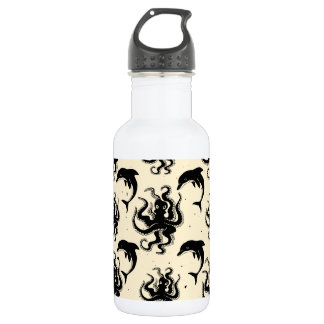 Weird Octopuses and Dolphins | Water Bottle