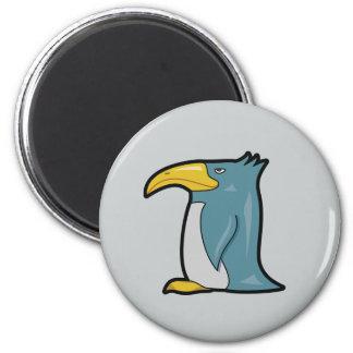 Weird Penguin Magnet