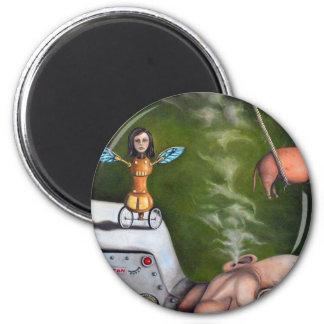 Weird Science 6 Cm Round Magnet