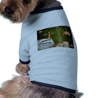 weird science -the robot factory doggie tshirt