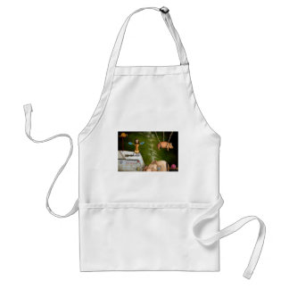 weird science -the robot factory standard apron