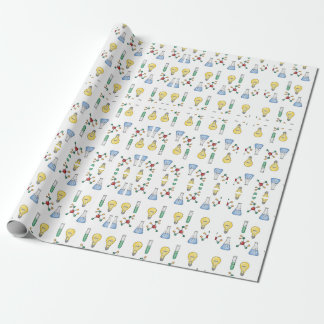 Weird Science Wrapping Paper