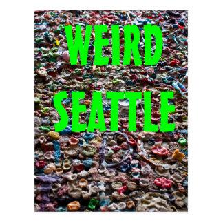 Weird Seattle Postcard