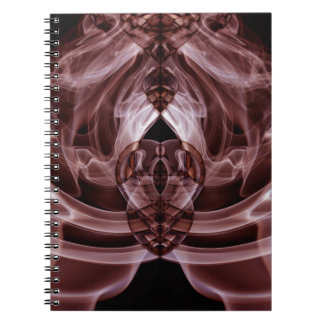 Weird Smoke (27).JPG Spiral Notebook