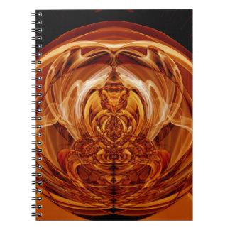 Weird Smoke (3).JPG Spiral Notebook