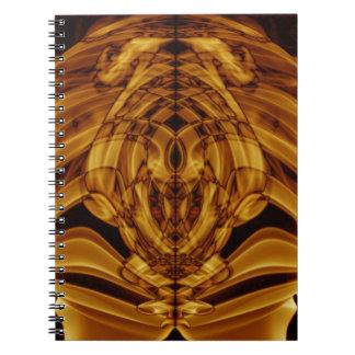 Weird Smoke (42).JPG Spiral Notebook