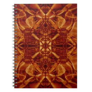 Weird Smoke (7).JPG Spiral Notebook