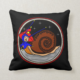 Weird Snail Cushion