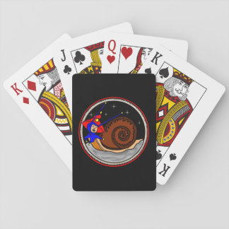 Weird Snail Playing Cards