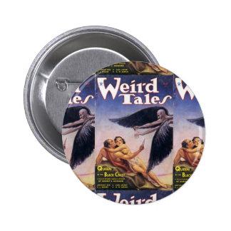 weird tales art pinback buttons