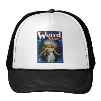 weird tales art hats
