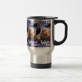 weird tales art coffee mug