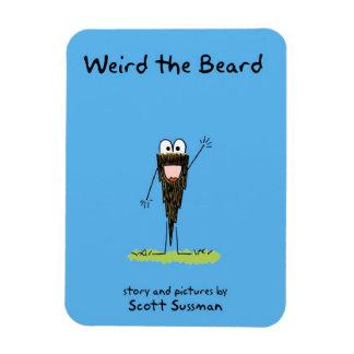 Weird the Beard magnet Rectangular Photo Magnet