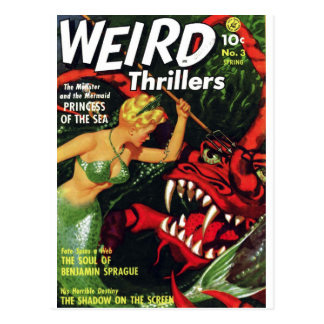 Weird Thrillers - Princess of the Sea Postcard