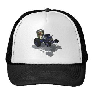 Weird Wheels Mad Brain Hat