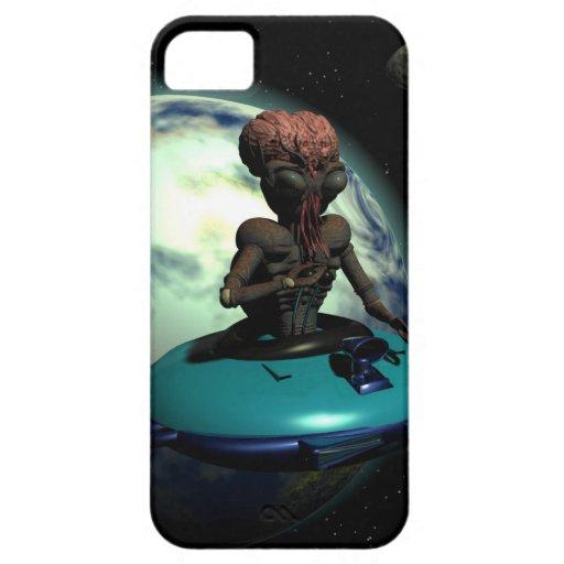 Weird Wheels Outa This World iPhone 5 Case