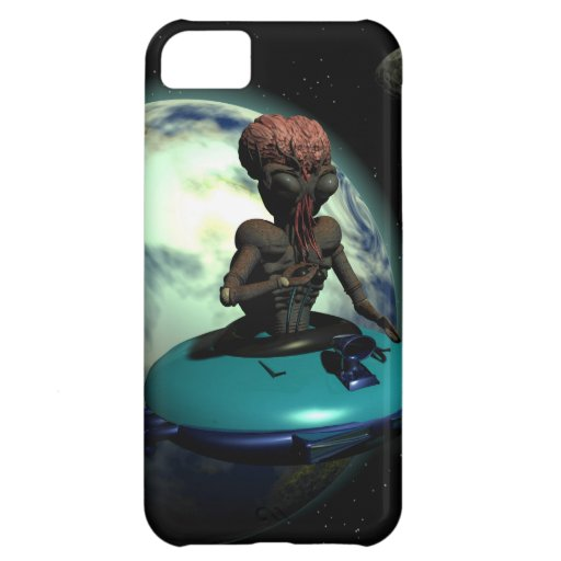 Weird Wheels Outa This World Case For iPhone 5C