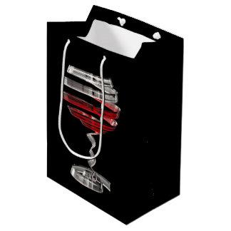 Weird Wine Glass Medium Gift Bag