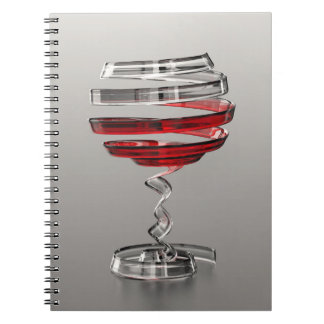 Weird Wine Glass Notebook