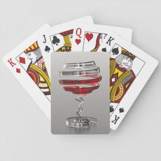 Weird Wine Glass Playing Cards