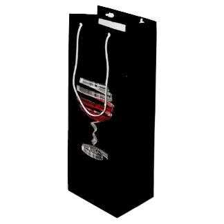 Weird Wine Glass Wine Gift Bag