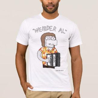 """""""Weirder Al"""" in Gold T-Shirt"""